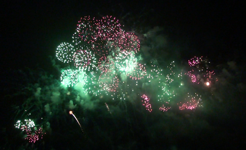 2nd Philippine International Pyromusical Competition fire works